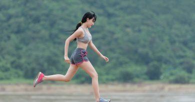 бягаща жена