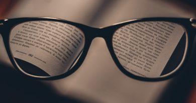 книга и очила